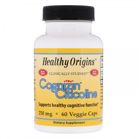 HEALTHY ORIGINS Cognizin Citicoline 250mg 60kap wege