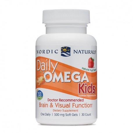 NORDIC NATURALS Daily Omega KIDS 30kap