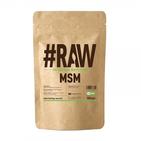 RAW MSM 500mg 240kap wege