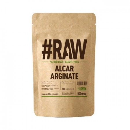RAW Alcar Arginate 500mg 120kap