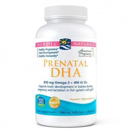 NORDIC NATURALS Prenatal DHA in Fish Gelatin 180kap