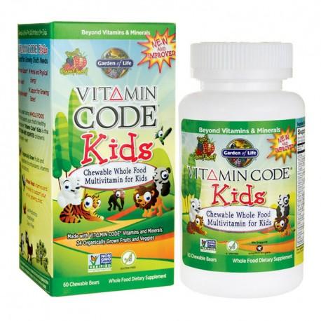 GARDEN OF LIFE Vitamin Code Kids Multivitamin 30żel