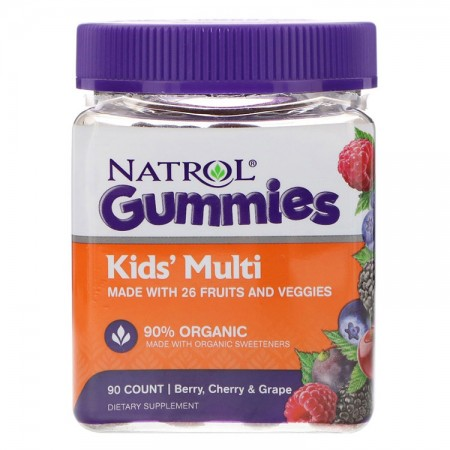 NATROL Gummies Kids' Multi 90 żelków