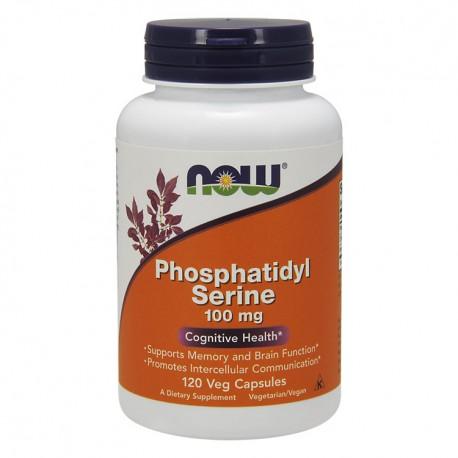 NOW FOODS Phosphatidyl serine 100mg 120kap