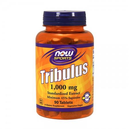NOW SPORTS Tribulus 1000mg 90tab wege