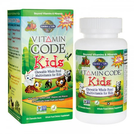 GARDEN OF LIFE Vitamin Code Kids Multivitamin 60żel