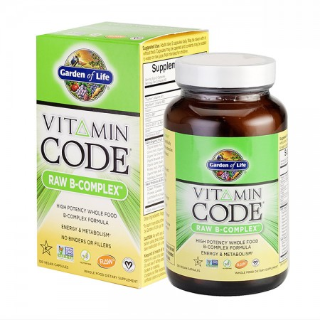 GARDEN OF LIFE Vitamin Code Raw B-Complex 120kap vege