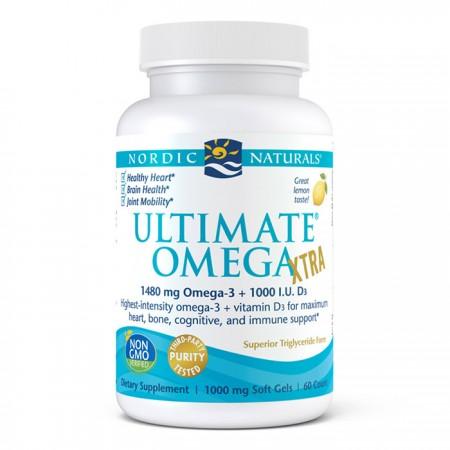 NORDIC NATURALS Ultimate Omega Xtra 60kap