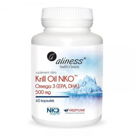 ALINESS Krill Oil (Olej z kryla) 60kap