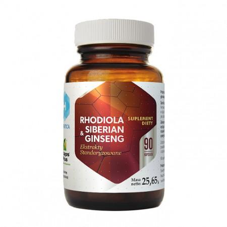HEPATICA Rhodiola & Siberian ginseng 90kap