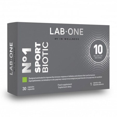 LAB-ONE No1 SportBiotic 30kap