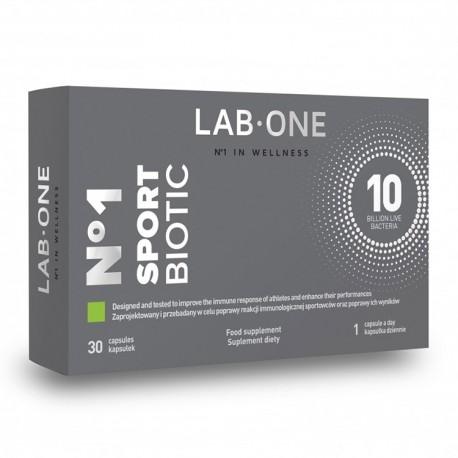 LAB-ONE No1 SportBiotic 30kap