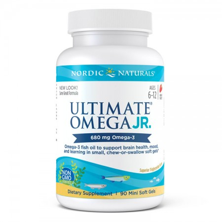 NORDIC NATURALS Ultimate Omega Junior 90kap
