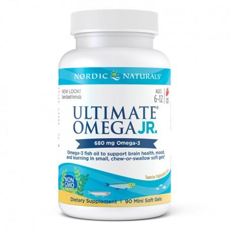 NORDIC NATURALS Ultimate Omega Junior 90kap