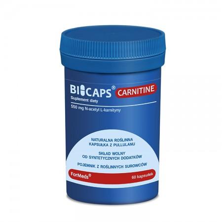 FORMEDS CARNITINE 550mg N-acetyl L-karnityna 60kap