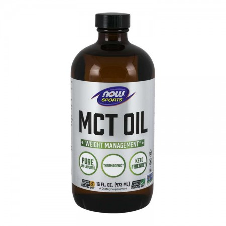 NOW FOODS Pure MCT Oil 473ml