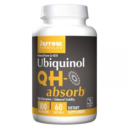 JARROW Ubiquinol QH-absorb 100mg 60kap