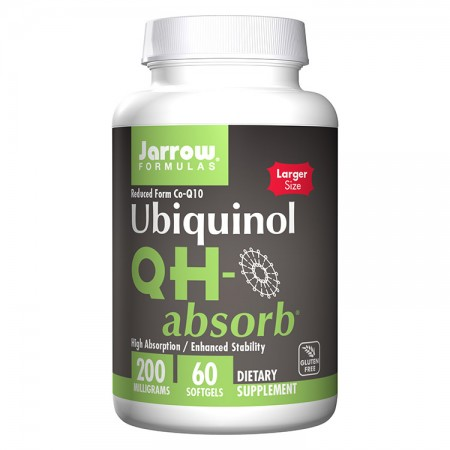 JARROW Ubiquinol QH-absorb 200mg 60kap