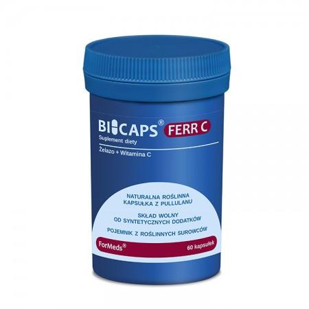 FORMEDS Bicaps FERR C (Żelazo z witaminą C) 60kap