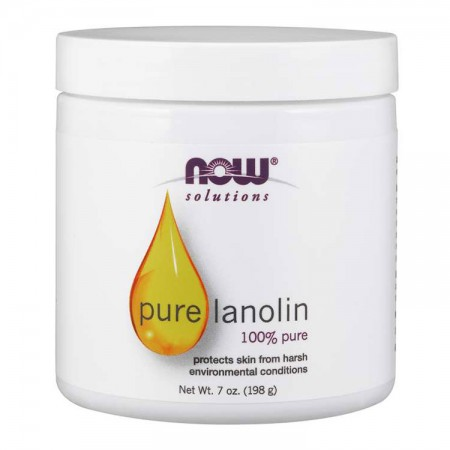 NOW FOODS Lanolin 198g Lanolina 100%