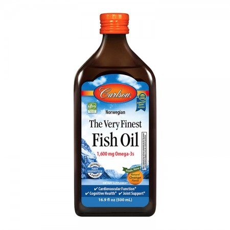 CARLSON The Very Finest Fish Oil 500ml