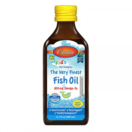 CARLSON The Very Finest Fish Oil Kids 200ml