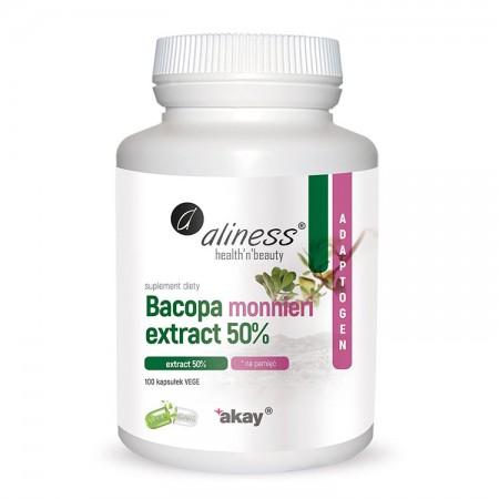 ALINESS Bacopa Monnieri 500mg 100kap Vege