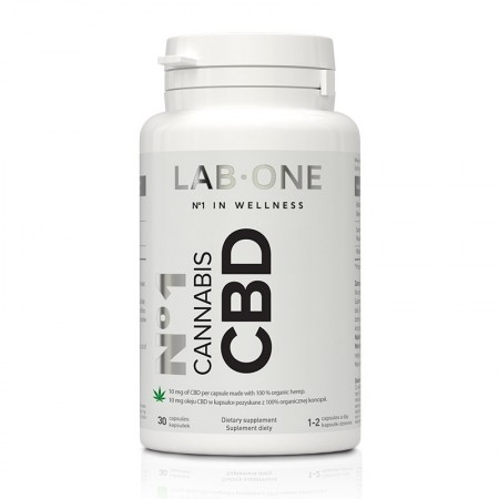 LAB-ONE No1 Cannabis CBD 30kap