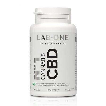 LAB-ONE No1 Cannabis CBD 30kap