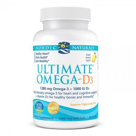 NORDIC NATURALS Ultimate Omega-D3 60kap