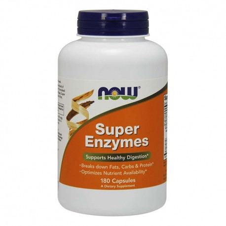 NOW FOODS Super Enzymes 180kap