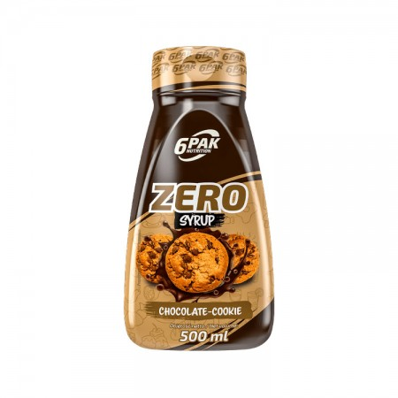 6PAK NUTRITION Zero Syrop Chcocolate-cookie 500ml