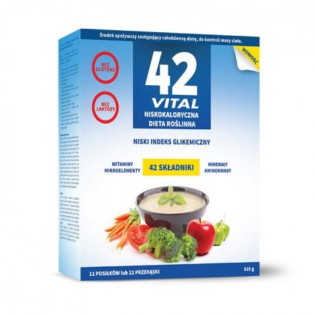 42 Vital Niskokaloryczna dieta roślinna 510 g