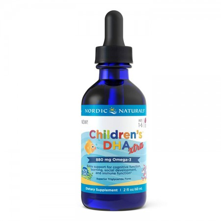 NORDIC NATURALS Children's DHA Xtra 60ml Jagodowy