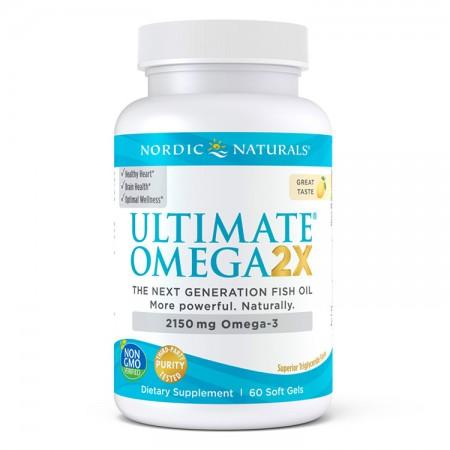 NORDIC NATURALS Ultimate Omega 2X 60kap