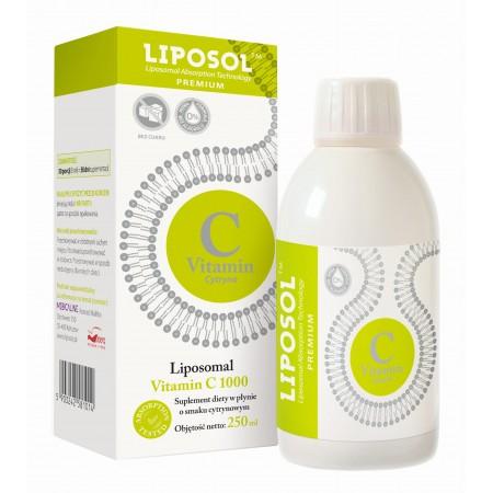 LIPOSOL C 1000 Liposomalna Witamina C 1000 250ml Cytryna