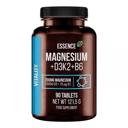 ESSENCE Magnesium + D3K2 + B6 90tab