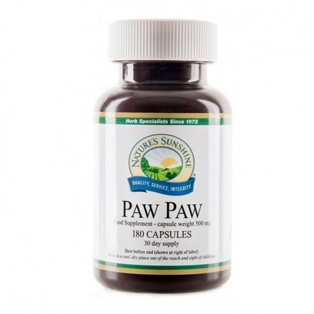 NATURE'S SUNSHINE Paw Paw 180kap