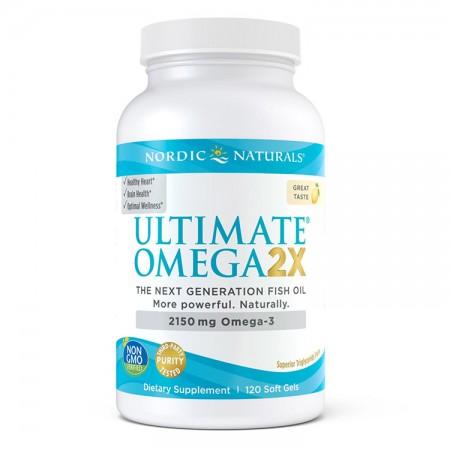 NORDIC NATURALS Ultimate Omega 2X 120kaps