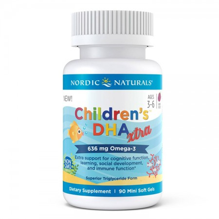 NORDIC NATURALS Children's DHA Xtra 90mini softgels