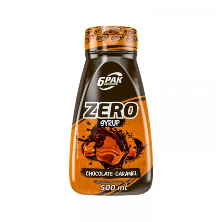 6PAK NUTRITION Zero Syrop Chocolate-caramel 500ml