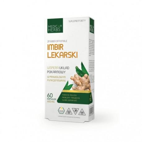 MEDICA HERBS Imbir Lekarski 60kap