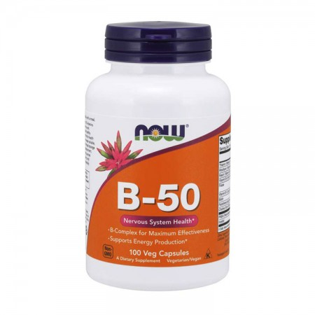 NOW FOODS B-50 100wege kaps