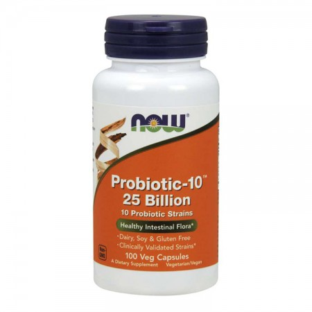 NOW FOODS Probiotic-10 25 Billion 100wege kaps