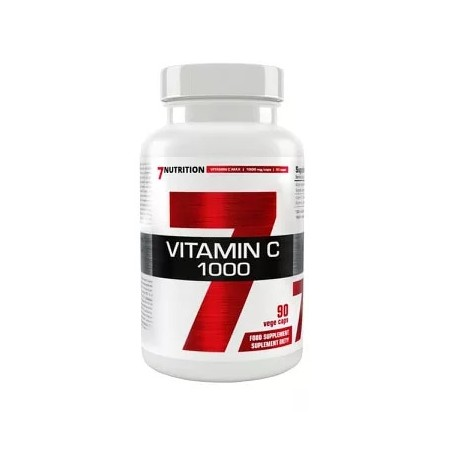 7Nutrition Vitamin C 1000mg 90kap Vege