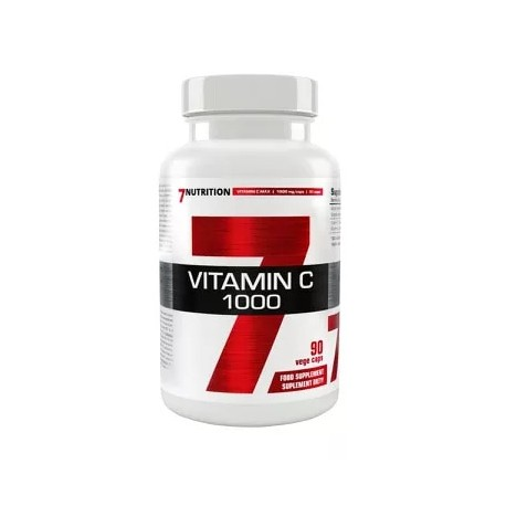 7Nutrition Vitamin C 1000mg 90kap Vege