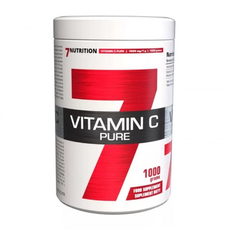 7NUTRITION Vitamin C Pure 1000g