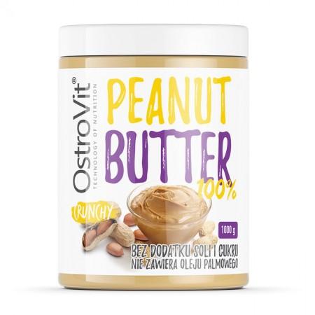 OSTROVIT Peanut Butter 100% crunchy 1000g