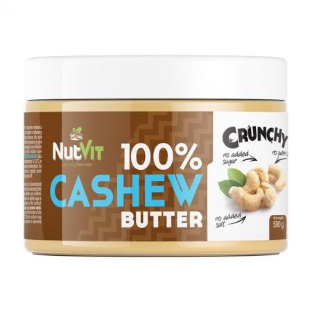 NUTVIT 100% Cashew Butter Crunchy 500g