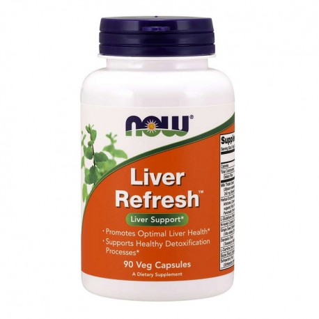 NOW FOODS Liver Refresh 90kap vege